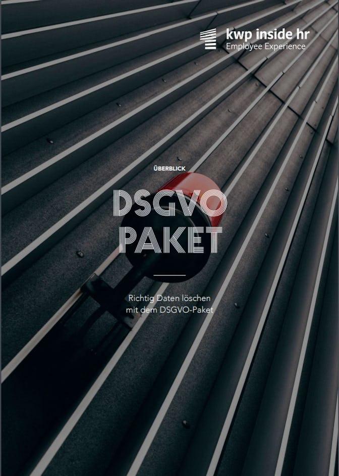 DSGVO Paket Flyer