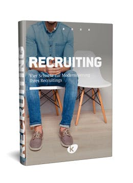eBook Recruiting: 4 Schritte für ein modernes Recruiting